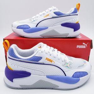 Puma X-RAY Square Iridescent White Silver Purple